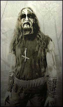 TRUER: Slik presenterer satanistvokalisten «Gaahl» seg på bandets hjemmesider. Foto: PROMOBILDER Foto: