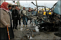 Blodig morgen i Irak