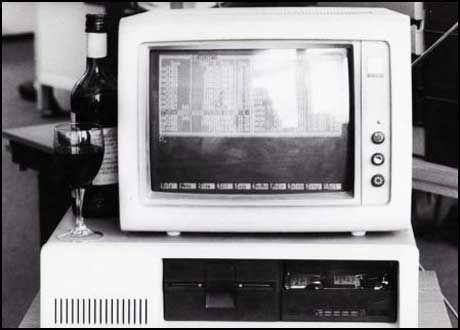 Bilde av en tidlig IBM PC. Foto: Computerworld.