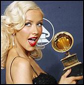 VANT ÉN: Christina Aguilera. Foto: AP