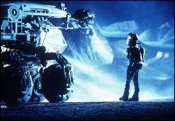ARMAGEDDON: Bilde fra filmen med Bruce Willis i hovedrollen. Foto: AP