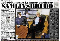 DAGENS VG: Les mer om undersøkelsen i dagens VG. Foto: Faksimile