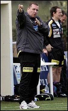 GIKK AV: Tom Nordlie sluttet som trener i mai. Foto: Scanpix