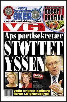 Faksimile VG 08/03 2007.