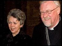 INVITERTE PÅ MIDDAG: Biskop Ole Christian Kvarme og kona Ingjerd. Foto: Arkivfoto: Espen Braata