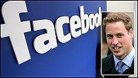 Er prins William på Facebook?