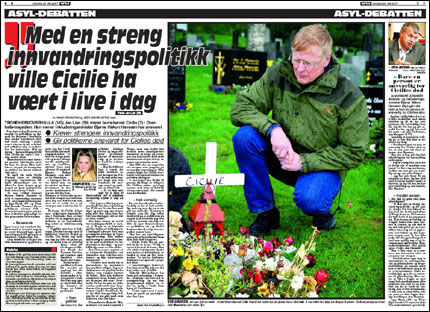 I DAGENS VG: Kan du lese hele saken om Jan Lian. Foto: Faksimile VG
