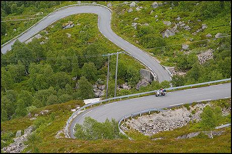 MC-FAVORITT: Norge på sitt beste: Suleskarvegen. Foto: Bike
