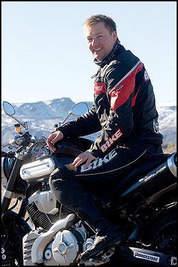 MER: - Men husk at Norge er mer enn Nordkapp, sier redaktør Morten Broks i Bike. Foto: Bike