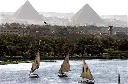 IKKE LENGER LENGST? Brasilianske forskere hevder nå at Nilen ikke lenger er verdens lengste. Foto: AP