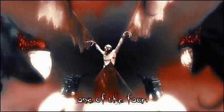 OND PARTNER: Ondskapen The Darkness - de ormelignende tentaklene - er en del av hovedpersonen i spillet med samme navn. Stemmen til ondskapen tar rockestjernen Mike Patton seg av. Foto: Starbreeze/2K Games