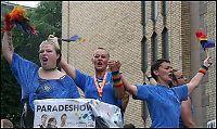 Homoparaden: - Vi er annerledes og mange