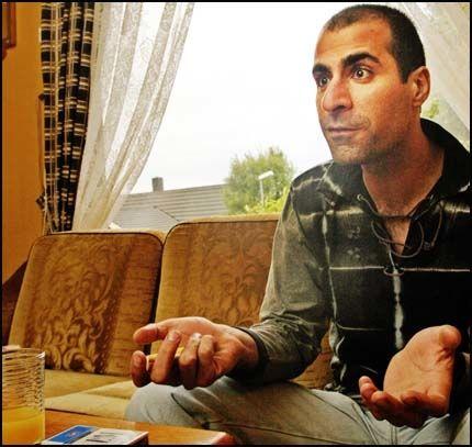 INNREISENEKT: Trusseldømte Farhad Osman fikk ikke slippe inn i hjemlandet Nord-Irak, selv om norske myndigheter har vist ham varig ut av landet. Foto: THOR NIELSEN