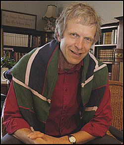 MOTSTANDER: Øivind Benestad er ordinert prest i Den Norske Kirke og har i flere år vært en aktiv debattant i homosaker. Foto: Fædrelandsvennen