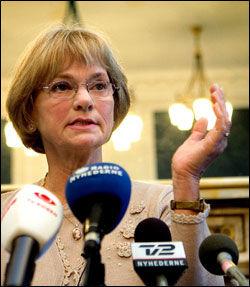 FRIKJENT FOR INJURIER: Dansk Folkepartis leder Pia Kjærsgaard kalte danske imamer for «forrædere». Foto: Scanpix