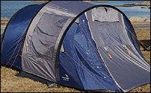 BILLIGST: Testens billigste telt er Easy Camp Taranto 500. Koster bare 1499 kroner. Foto: John Arne Tungen