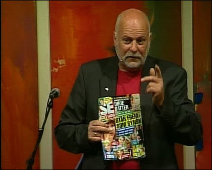 TIL ANGREP: TV-pastor Jan Hanvold gikk hardt ut mot Märtha Louise. Foto: VGTV
