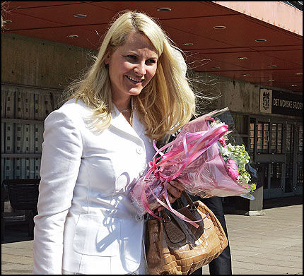 LINDRENDE: Märtha har hender som lindrer og beroliger, har kronprinsesse Mette-Marit uttalt. Foto: Trond Solberg