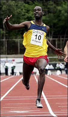 TATT: Jaysuma Saidy N'Dure fra et stevne ved en tidligere anledning. Foto: Scanpix