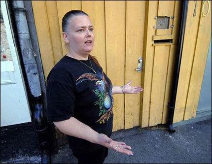 KJØPT: Else Marie Romset ble kjøpt med 50 kroner for å stemme Ap i Drammen. Hun tok imot pengene, men ga sin stemme til Frp. Foto: FOTO: SVEN-ERIK RØED, DRAMMENS TIDENDE