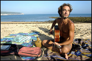 SJARMØR: José har funnet sitt paradis på jord. Foto: VIBKE MONTERO.