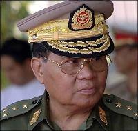 - Burma-juntaens leder har gått av