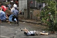 Kenji skutt på jobb i Rangoon