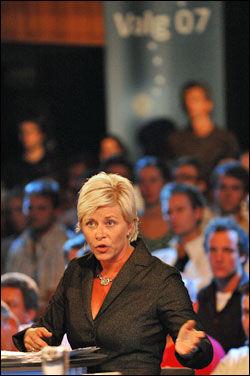 VIL I REGJERING: Frp-formann Siv Jensen. Foto: SCANPIX