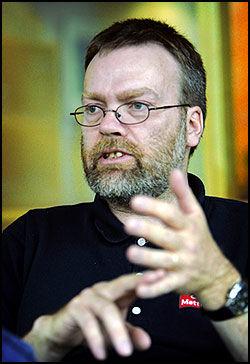 REAGERER: Christoffer Nielsen i Mattilsynet. Foto: Mattis Sandblad