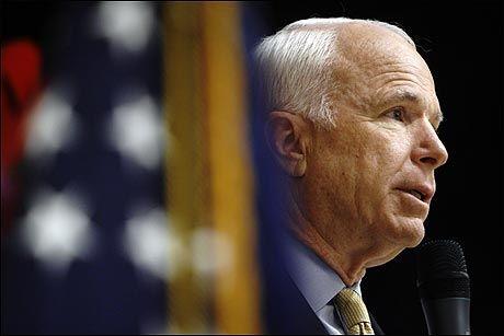 KANDIDAT: John McCain. Foto: AP