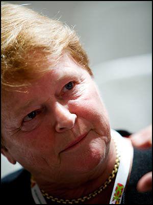 TREKKER SEG IKKE: Gro Harlem Brundtland vurderer overhodet ikke å trekke seg etter kritikken mot rollen som rådgiver for Pepsi. Foto: KRISTIAN HELGESEN/VG