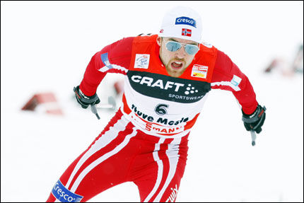 IMPONERTE: Tord Asle Gjerdalen. Foto: Scanpix
