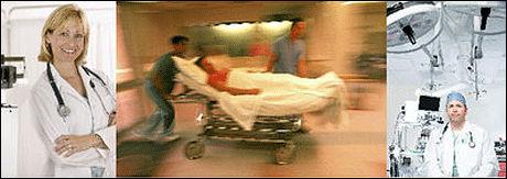 BLIR SERIE: Serien «Sjukhuset» om livet på Akademiska Sjukhuset i Uppsala vært en suksess på svensk TV3. Nå følger norsk TV3 etter. Foto: TV3 Sverige