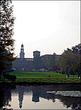 PARCO: Nyt den store parken midt i byen. Foto: Anne-Lise von der Fehr