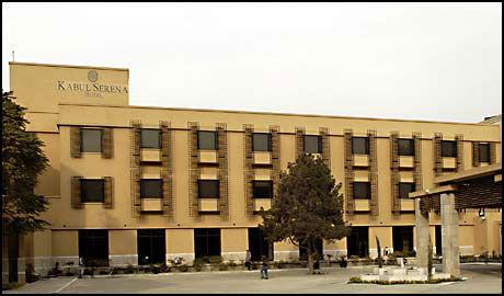 ANGREPET: Serena Hotel, der blant annet utenriksminister Jonas Gahr Støre bor, skal ha blitt utsatt for bombeangrep og skudd. Foto: Serena Hotel