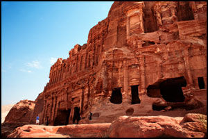 UNDERVERK: Oldtidsbyen Petra i Jordan ble i fjor kåret til et av verdens nye syv underverker. Se mer fra petra på VGTV. Foto: KARIN BEATE NØSTERUD