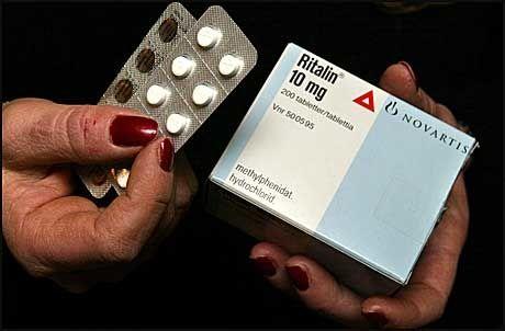 AMFETAMIN-PREPARAT: Ritalin er et sentralstimulerende legemiddel som blant annet inneholder amfetamin. Foto: Trond Solberg/VG