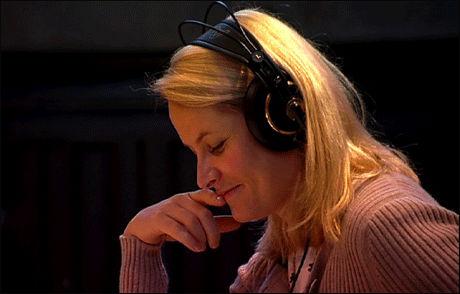 BEJUBLES: Mette-Marit får applaus fra Kristen-Norge for sitt engasjement for nye og gamle salmer. Foto: Knut kollandsrud