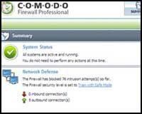 Comodo Firewall.