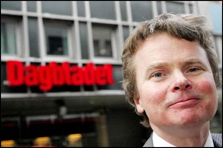 ETIKKLEDER: Redaktør for etikk Dagbladet, Lars Helle, kjenner ikke saken i detalj. Men han er langt på vei enig med Gunnar Bodahl-Johansen. Foto: SCANPIX