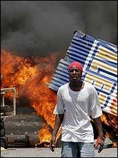 FARLIG: Haiti og hovedstaden Port-au-Prince er ikke å anbefale. Foto: Reuters