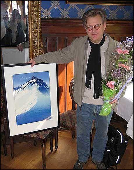 PRISVERDIG: Bent Hamer er tildelt Filmkritikerprisen 2008 - som den aller første for tredje gang! Foto: Jon Selås