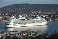 Her ankommer verdens største cruiseskip Oslo