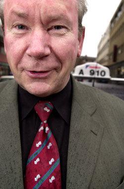 Omstridt: Wiggo Johansen måtte gå som administrerende direktør i Oslo Taxi i 2004. Nå er han valgt som selskapets nye styreleder på benkeforslag. Foto: Tore Berntsen