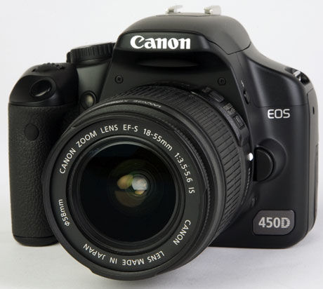 BEST I TEST: Canon EOS 450D. Foto: Lyd & Bilde.