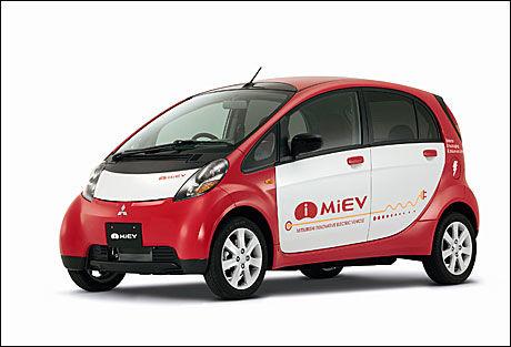 KOMMER TIL NORGE: Mitsubishis elbil i-MIEV. Foto: Mitsubishi