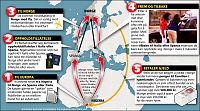 Slik reiser nigerianske prostituerte til Norge