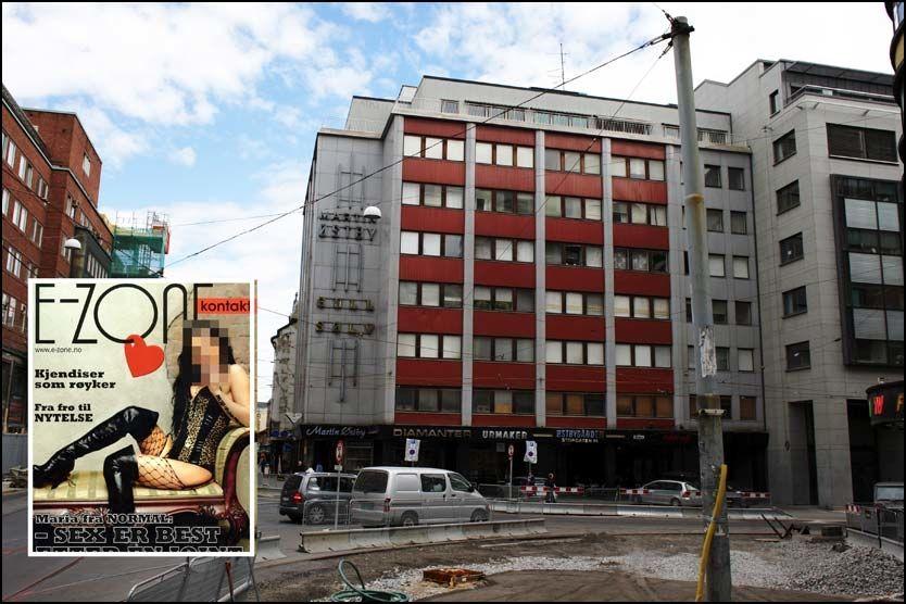 E-ZONE: Bladet E-Zone har sine lokaler i dette bygget i Storgata i Oslo. Foto: MARTE VIKE ARNESEN/FAKSIMILE