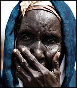 GLEMT: En og en halv million mennesker er internflyktninger i Somalia. Foto: AFP