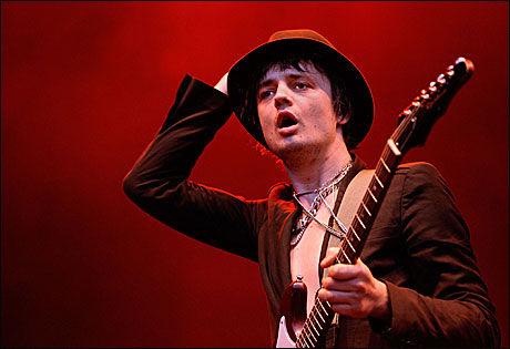SOLO: Pete Doherty er snart klar med soloalbumet sitt. Foto: AFP